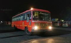 Nagpur - Kinvat (yogeshyp) Tags: msrtc maharashtrastatetransport msrtcparivartanbus nagpurkinvatstbus kinvatdepotbus