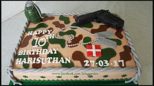 Miraculous Army Birthday Cake Birthday Cake 10 The Birthday Cake Personalised Birthday Cards Paralily Jamesorg