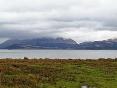 8530 Beinn a'Bheithir Appin across Loch Linnhe (Andy - Busyyyyyyyyy) Tags: 20170318 bbb beinnabheithir ccc clouds day9 lll lochlinnhe mist mmm morvern scotland sealoch sss water www