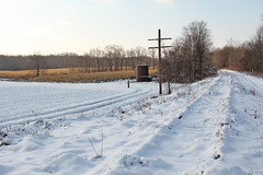 This was the Erie (craigsanders429) Tags: winter winterphotography winterrailroadphotography winterontherailroad winterandrailroads erielackawanna erierailroad tracks railroadtracks railroadtracksinsnow ravennaohio abandonedrailroads