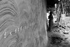 essential beauty (hydRometra) Tags: tradizioni muro persone india people jharkhand bn wall saraitoli traditions bw adivasi chia