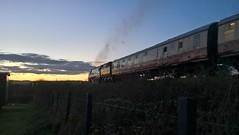 34070 Manston in the evening (william_peckham) Tags: 34070 manston swanage swanagerailway strictlybulleid southern corfecastle harmanscross battleofbritainclass bulleid steam locomotive railway train