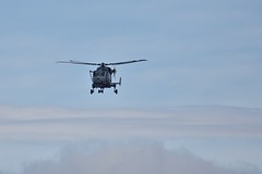 Chopper (Nige H (Thanks for 15m views)) Tags: sky cloud chopper helicopter royalnavy uk frozenmoment