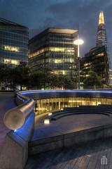 London City HDR (dennis.brendel) Tags: uk england london night dark nacht hdr dunkel hdri hdratnight grosbritannienundnordirland