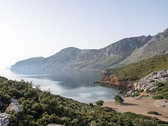 Grecia (davdenic  in the sky ) Tags: see boat mare sails greece grecia sole griechenland acqua vacanza vento barcaavela