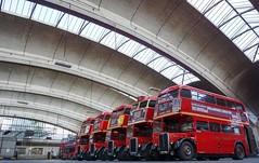 Waiting to Depart (McTumshie) Tags: england bus london unitedkingdom rt stockwell londonist stockwellbusgarage rt1702 yotb kyy529 rtl453 klb648 rtl1163 kgk803 rm1063 rtl139 rtl1076 luc253 yearofthebus stockwellbusgarageopenday 21june2014