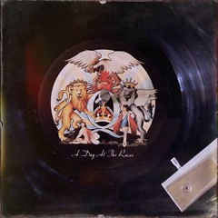A Day at the Races (BLACK EYED SUZY) Tags: album vinyl queen record iphone oggle hipstamatic