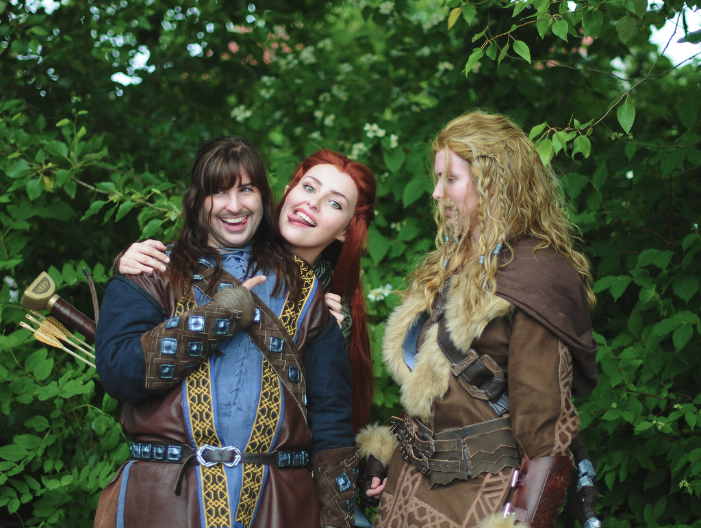 Tauriel and kili cosplay