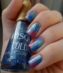 Nuvem de paetê (NailArtNat) Tags: art glitter pastel nail nails decoração nas unhas risque colorido esmalte galaxi