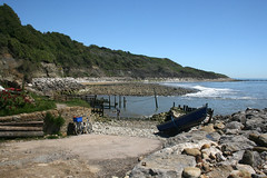 Reeth Bay (JonCombe) Tags: chale isleofwight chalebay wight coast coastwalk118b