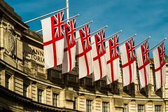 """Flags"" ( Fuji XE1 & XF 56mm F1.2R Telephoto) (markdbaynham) Tags: city uk urban london westminster prime fuji capital evil x flags telephoto gb fujifilm metropolis trans csc f12 56mm xe1 apsc"