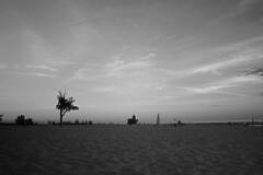 Holland State Park - take 2 (kirsten.elise) Tags: statepark park blackandwhite lighthouse lake holland beach water michigan ottawa gimp lakemichigan greatlakes practice edit bigred hollandstatepark westmichigan ottawacounty tonalranges