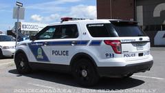 Service de police de Trois-Rivires (QC) (policecanada.ca) Tags: ford explorer police utility troisrivieres 19 interceptor superviseur 154219