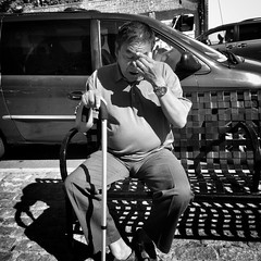 Cortelyou Road (AMRosario) Tags: nyc newyorkcity blackandwhite bw brooklyn streetphotography streetphoto kensington ditmas