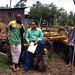 IFPRI researcher Shahidur Rashid with Ethiopian farmers