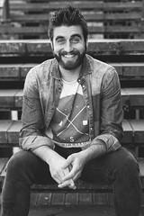 Miguel (Carmen Clara Ciria Rosell) Tags: men beard retrato portait carmela bearded barbas producciones barbudos carmelaproduciones