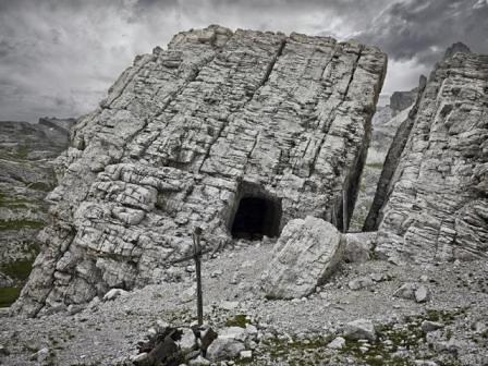 """Lagazuoi, Col dei Bos Il """"Sasso misterioso"""""""