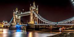 Tower Bridge at night, London (stephanrudolph) Tags: uk bridge england london night wow nikon europa europe wideangle gb handheld d700 1424mm 1424mmf28g saariysqualitypictures visipix