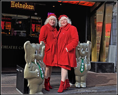 Old whores still ready to party... (martin alberts Pictures of Amsterdam) Tags: amsterdam mokum redlightdistrict 1012 casarosso redlightarea martinalberts oldwhores janotten ouwehoeren martinefokkens louisefokkens documentairefestivalidfa