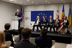 Moldova, Georgia, and Ukraine Association Agreement Event, July 7, 2014: João Vale de Almeida, Ambassador of the European Union to the United States