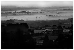 Over the clouds (_Zeta_) Tags: blackandwhite bw sunrise alba valle bn nebbia martinafranca valleditria