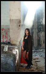nEO_IMG_DP1U1112 (c0466art) Tags: school light girl mystery canon eyes pretty smoke taiwan attractive batman feeling charming custom role hight romatic 1dx marsk  c0466art