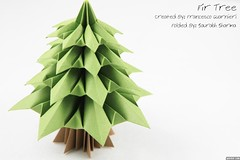 Fir Tree: Francesco Guarnieri (Saurabh Sharma Origami Studio) Tags: origami tree abete christmas francescoguarnieri