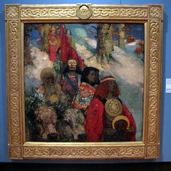The Druids - Bringing in the Mistletoe 1890 by George Henry and EA Hornel (neppanen) Tags: art museum painting scotland george henry museo maalaus druids taide skotlanti georgehenry hornel kuvataide discounterintelligence sampen eahornel