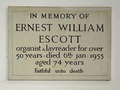 organist & layreader (Simon_K) Tags: church scott norfolk churches william ernest eastanglia escott aslacton