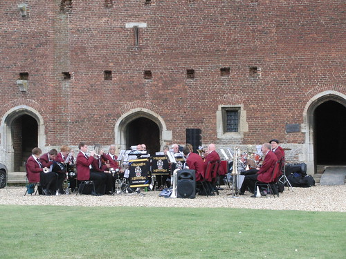 Tattershall Castle - ASB warming up!