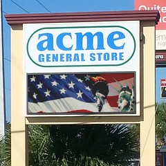 Full Color LED Sign | Acme General Store