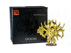Golden Doom Hero Figurine from DOTA 2 (spratt504) Tags: doom figurine productphotography goldendoom dota2 doomdota2 dota2merchandise