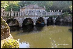 Oca (Pontevedra) Pazo de Oca_20 puente (ferlomu) Tags: ferlomu galicia jardín pazodeoca pontevedra puente river