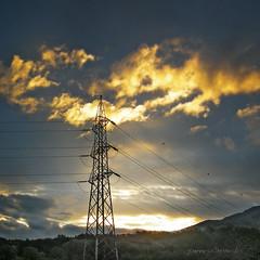 energie (pamo67) Tags: morning sky sunrise square energy power alba energie pylon trellis cielo electricity fili electricwires mattino elettricit traliccio pamo67 pasqualemozzillo