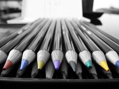 Coloured pencils (paulcrawford82) Tags: colour pencil selective
