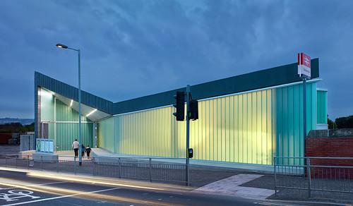 Dalmarnock Station by Atkins