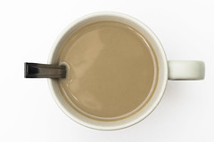 195/365 (vanilla-time) Tags: cup coffee breakfast tea drink spoon mug 365
