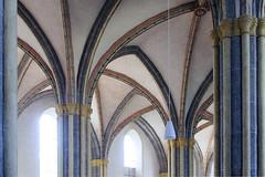 """Laufen - Gothic parish church """"Zu unserer lieben Frau"""" (rotraud_71) Tags: germany bavaria gothic oberbayern arches laufen parishchurch hallchurch vanagram"""