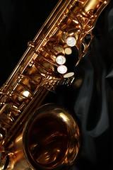 Saxophone #1 (Greg Neztekidis) Tags: music black canon eos gold play 7d instrument l romantic shinny f28 saxophone lseries 2470