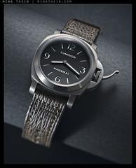 _8055295 copy (mingthein) Tags: macro closeup nikon watch micro wristwatch titanium ming speedlight base diffuser horology panerai onn luminor strobist thein sb900 photohorologer pam176 mingtheincom d800e