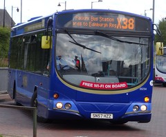 Stirling (Andrew Stopford) Tags: eclipse volvo stirling first wright b7rle sn57hzz