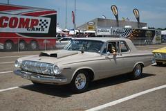 1963 Dodge (osubuckialum) Tags: show columbus ohio brown classic cars car nostalgia views dodge oh mopar nationals 1000 carshow 1963 2014 superstock moparnationals nationaltrailraceway