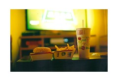 world cup meal (flipopotin) Tags: france burger frenchfries mcdonalds soda worldcup canona1 lostpotatoe worldcup2014