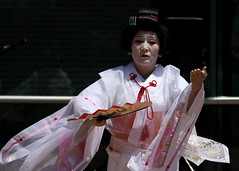 Nisei Week Performer1 (Wiley C) Tags: california losangeles dancer kimono performer odori japanesefestival niseiweek august2014