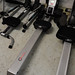 Crane rowing machine