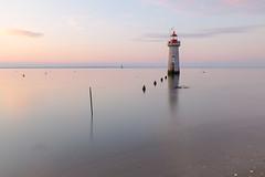 Villès-Martin Lighthouse (Philippe POUVREAU) Tags: lighthouse beach sunrise harbour plage phare saintnazaire 2014 loireatlantique leversoleil flicksbest