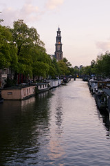 Canale (rafpas82) Tags: holland amsterdam holidays case agosto netherland riflessi olanda vacanze canale vanillasky westerkerk 2014 d7000 35mm18g
