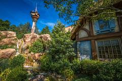 Rapunzel's Oasis (MattStemerman) Tags: tower magic kingdom disney wdw waltdisneyworld rapunzel