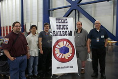 BTTS2014_39 (SavaTheAggie) Tags: show railroad brick station train layout big track texas lego cathedral palestine telephone engine utility trains steam pole engines monorail 2014 tbrr