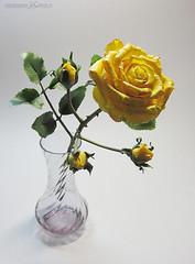(agattielle) Tags: 2014 clayflowers my
